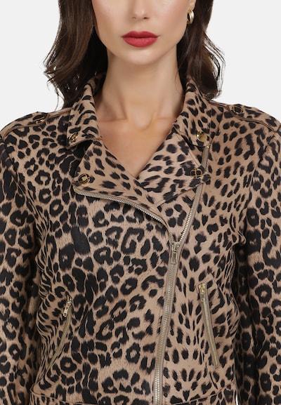 faina Jacke mit Leo-Print in mischfarben, Produktansicht