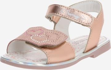 PRIMIGI Sandals in Gold