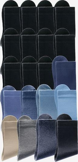 GO IN Socken in blau / grau / schwarz, Produktansicht