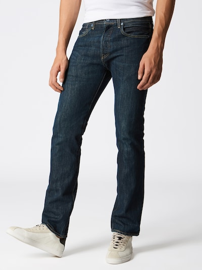 Jeans LEVI'S pe denim albastru, Vizualizare model