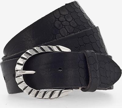 b.belt Handmade in Germany Gürtel 'Sofia' in schwarz, Produktansicht