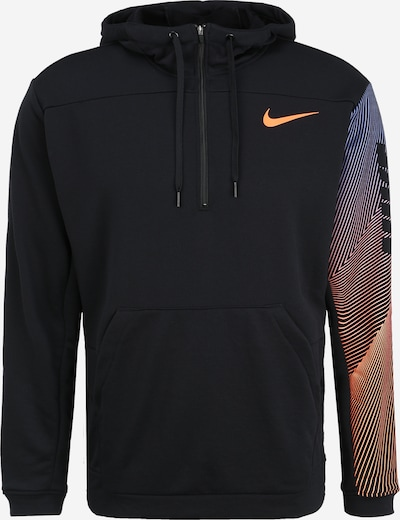 NIKE Sweatshirt in orange / schwarz, Produktansicht
