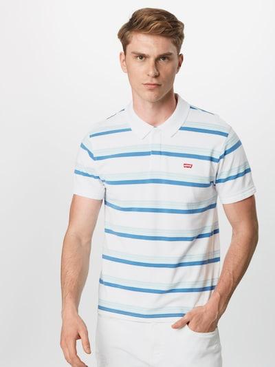 LEVI'S Koszulka 'Original Batwing Polo' w kolorze jasnoniebieski / offwhitem: Widok z przodu