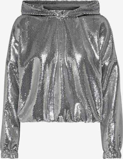 ONLY Sweatshirt in silber, Produktansicht