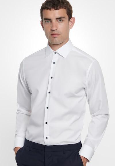 SEIDENSTICKER Zakelijk overhemd in de kleur Wit: Vooraanzicht