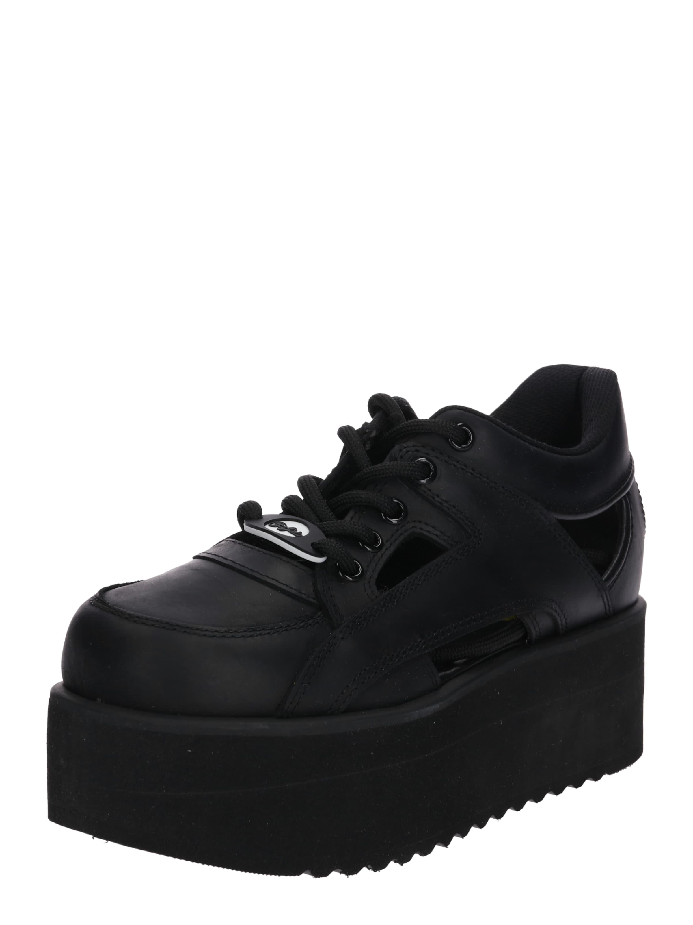 Buffalo 6' Sneaker '1331 Schwarz In London cAq4RLj35