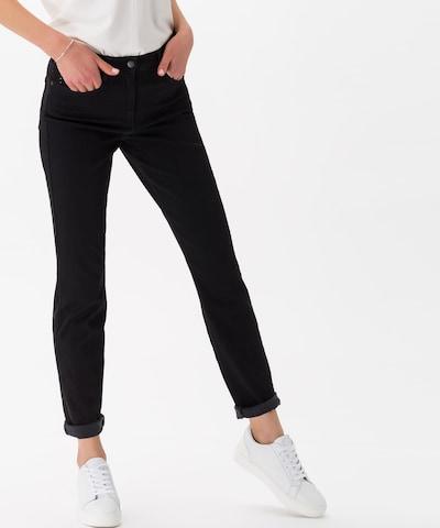 BRAX Jeans 'Shakira' in black denim, Modelansicht