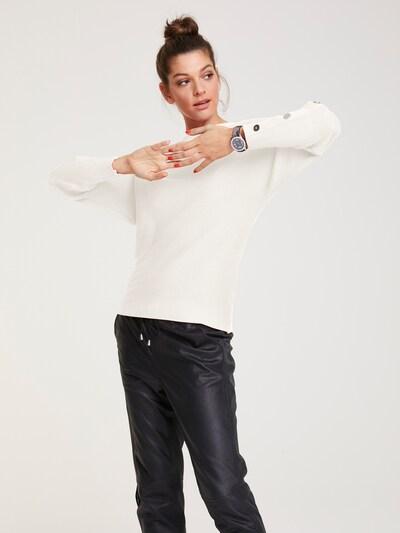 heine Pullover in offwhite, Modelansicht