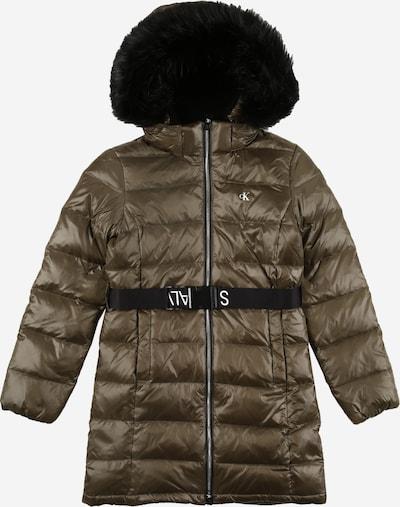Paltas iš Calvin Klein Jeans , spalva - alyvuogių spalva, Prekių apžvalga