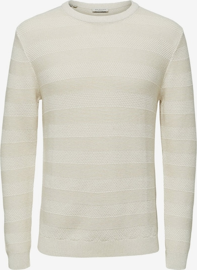 SELECTED HOMME Pullover in weiß, Produktansicht