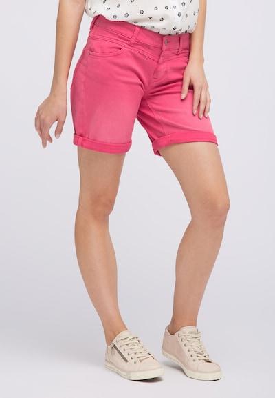 MUSTANG Shorts in pink, Modelansicht