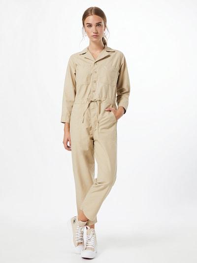 LEVI'S Jumpsuit 'Utility' in beige: Frontalansicht