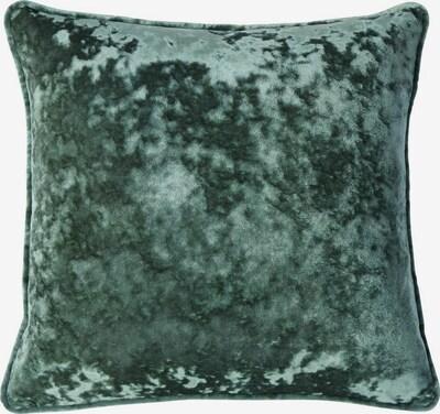 MY HOME Kissenhülle in dunkelgrün, Produktansicht