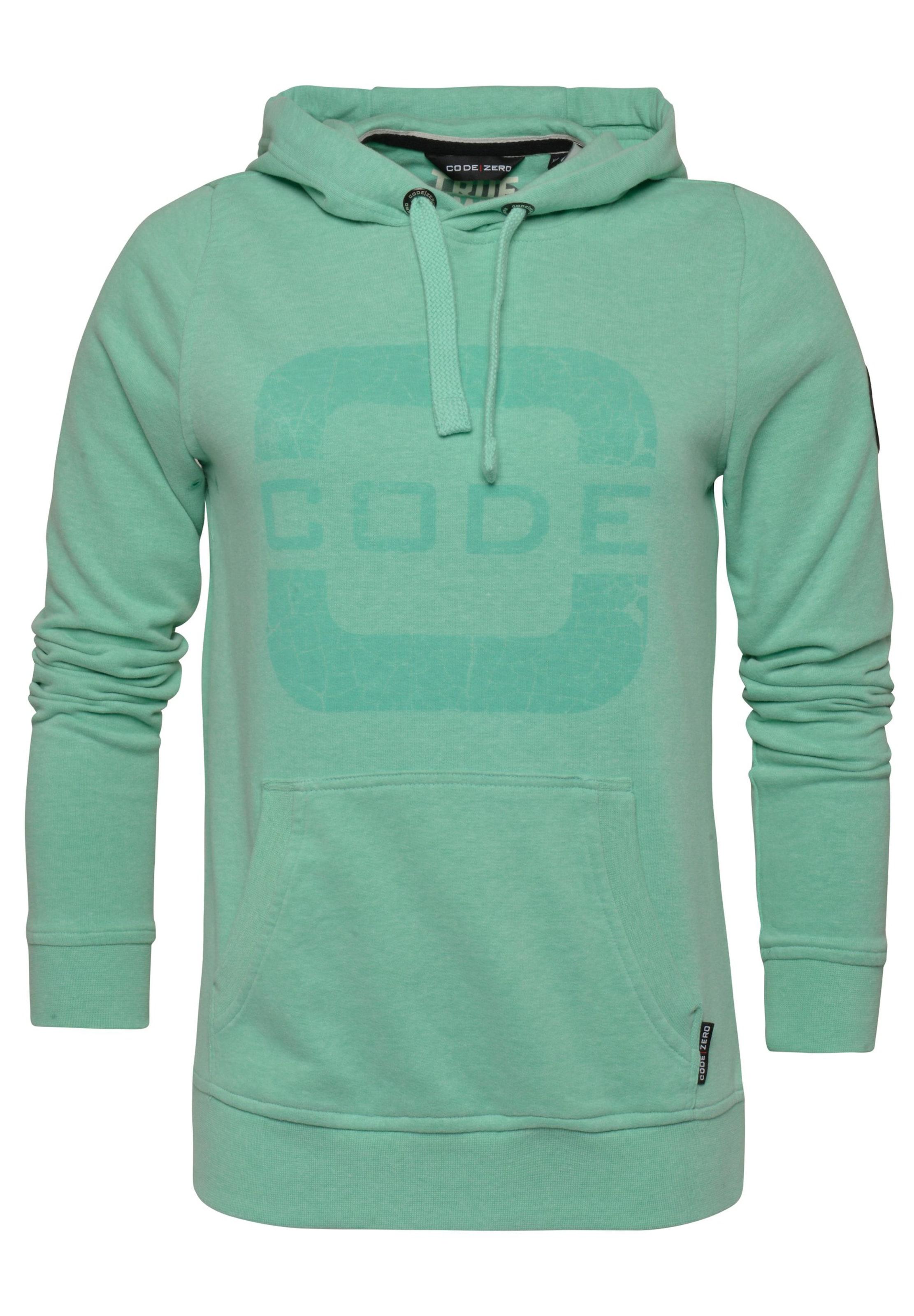 Grün Code zero Sweatshirt In 'transire' y8mvn0OwN