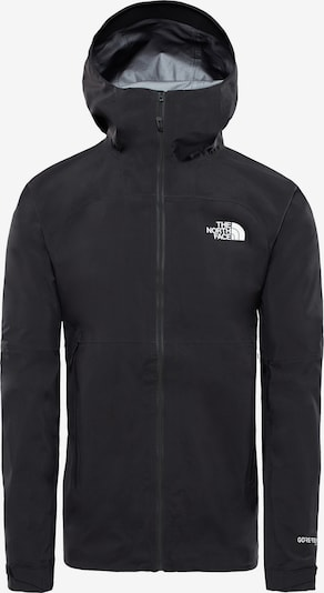 THE NORTH FACE Outdoorjacke 'Impendor Shell' in schwarz / weiß, Produktansicht