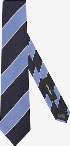 SEIDENSTICKER Krawatte 'Slim' in Blau