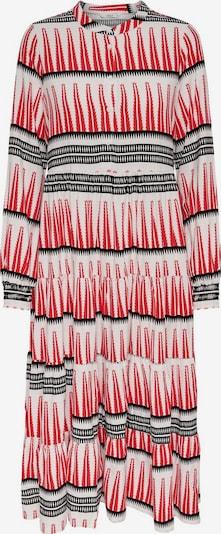 ONLY Blousejurk 'ONLLUCCA' in de kleur Rood / Zwart / Wit, Productweergave
