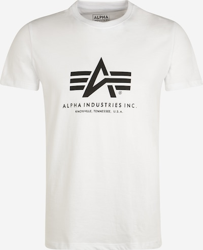 ALPHA INDUSTRIES Shirt in de kleur Wit: Vooraanzicht