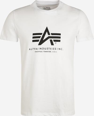 ALPHA INDUSTRIES Shirt in de kleur Wit, Productweergave