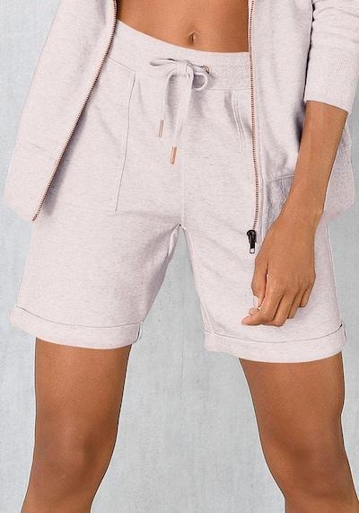 BENCH Shorts in beigemeliert, Modelansicht