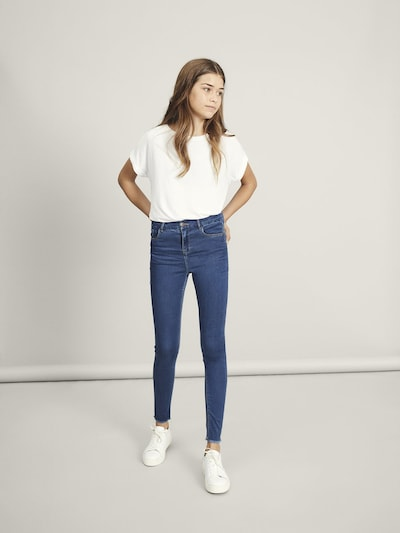 NAME IT Jeans 'High Waist Skinny Fit Ankle' in blau: Frontalansicht