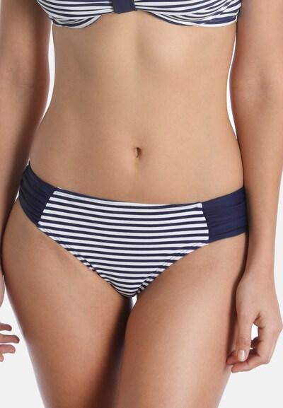 sassa Bikini-Hose in navy / weiß, Modelansicht