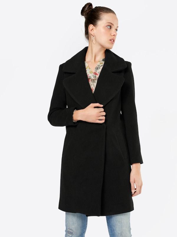boohoo oversize mantel 39 poppy 39 in schwarz about you. Black Bedroom Furniture Sets. Home Design Ideas