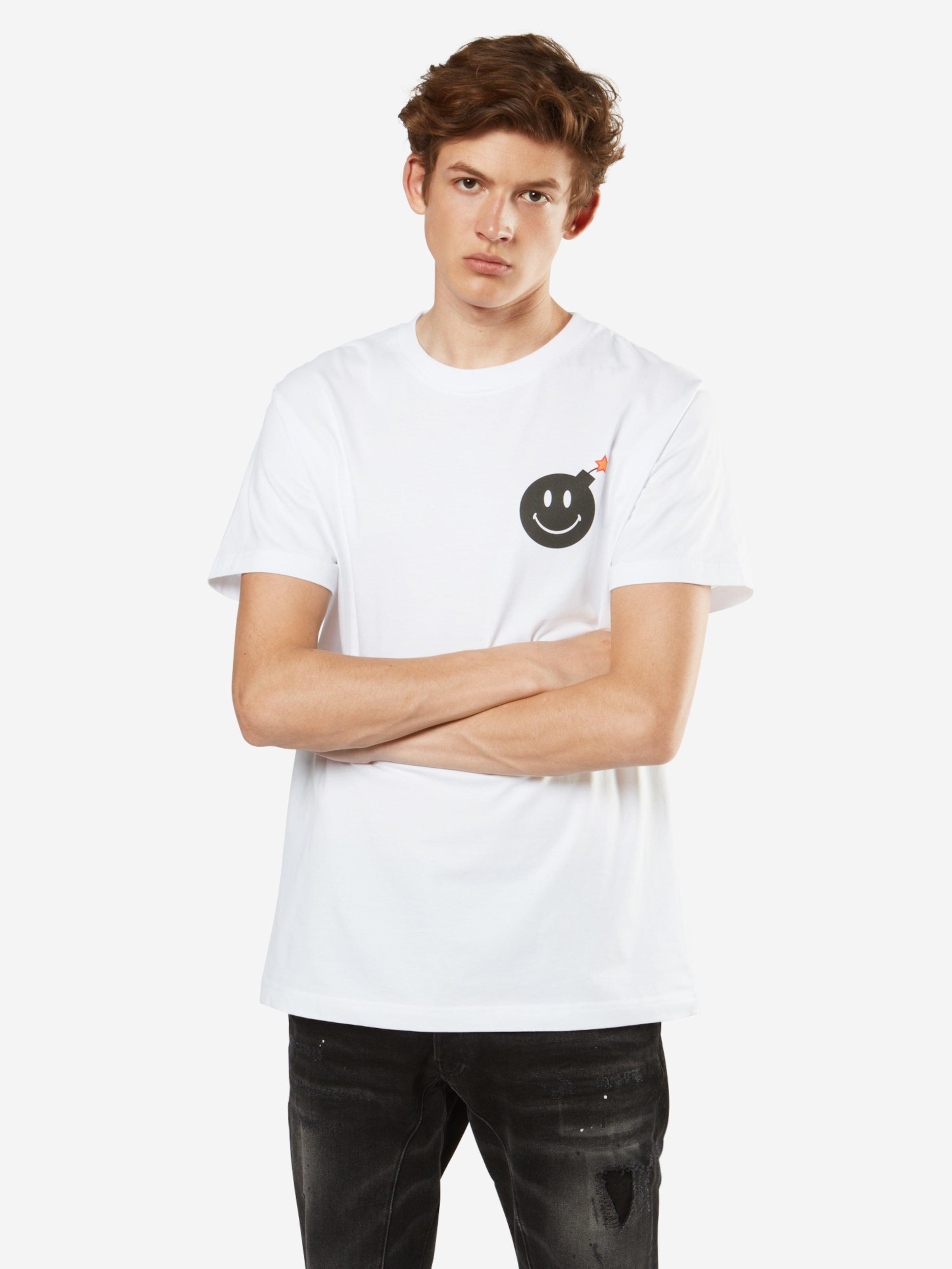 Tee' In Mister shirt Tee 'smiley SchwarzWeiß Bomb T tQrCBsxdh