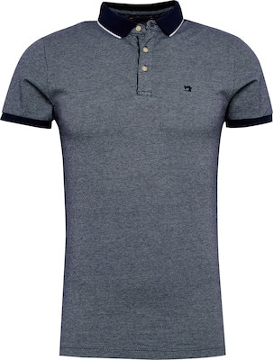 SCOTCH & SODA Shirt 'Classic 2-Tone pique polo'