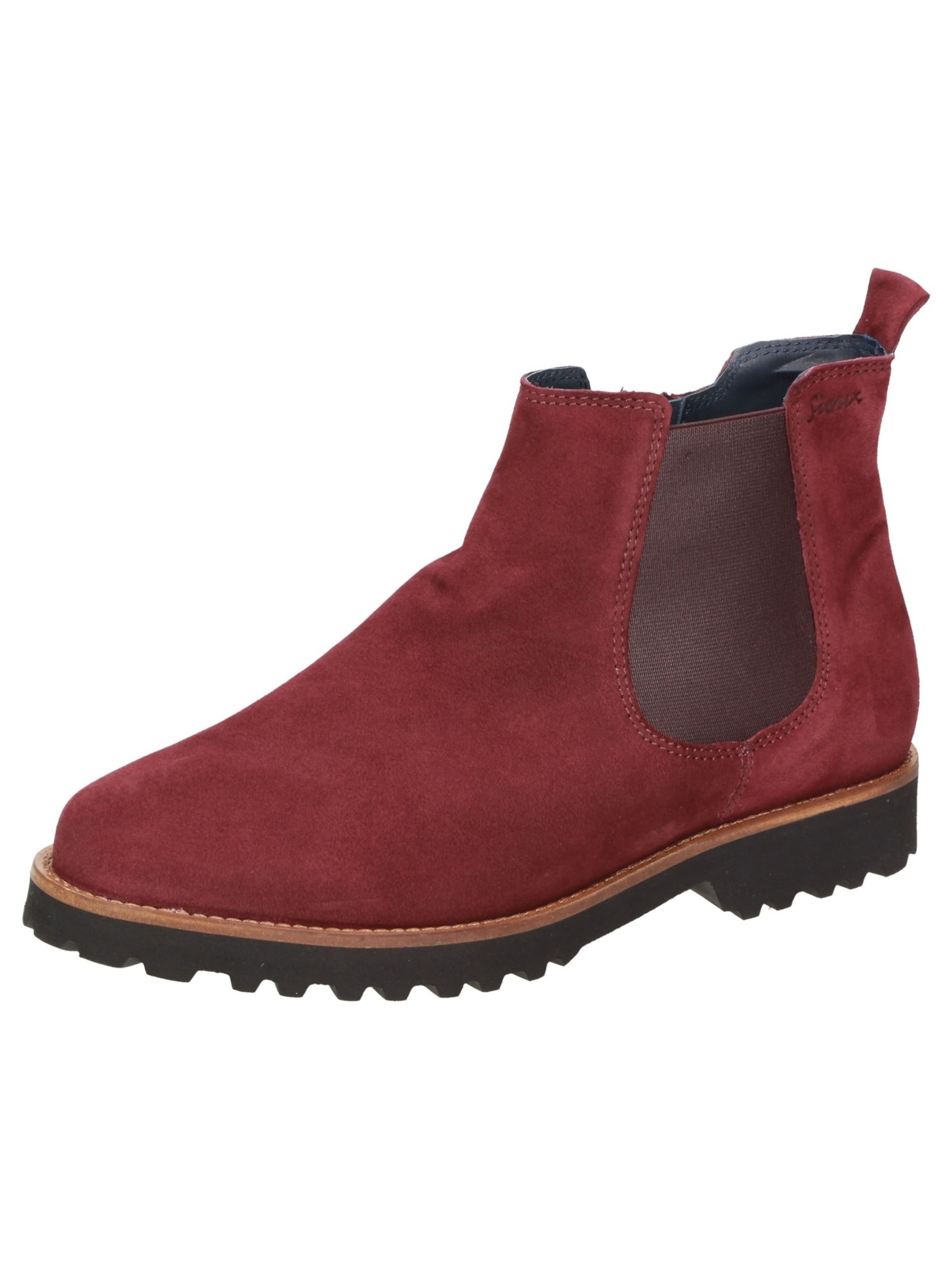 SIOUX Chelsea Stiefel 'Merotith' in rot