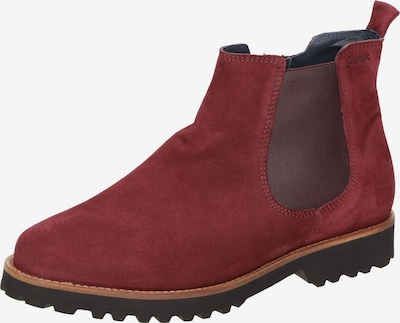 SIOUX Chelsea Boot 'Meredith' in rot, Produktansicht