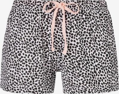 VIVANCE Pyjamahose 'Dreams' in hellpink / schwarz / weiß, Produktansicht