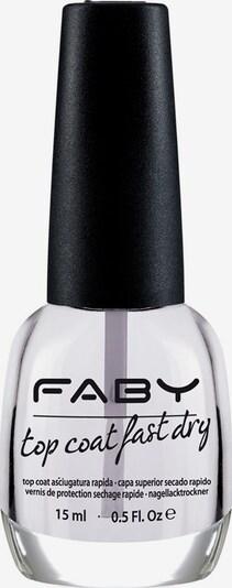 FABY 'Top Coat Fast Dry', Schnell-trocknender Überlack in transparent, Produktansicht