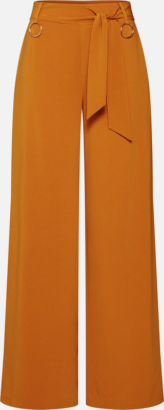 4th & Reckless Hose 'HARRINGTON TROUSER' in orange, Produktansicht