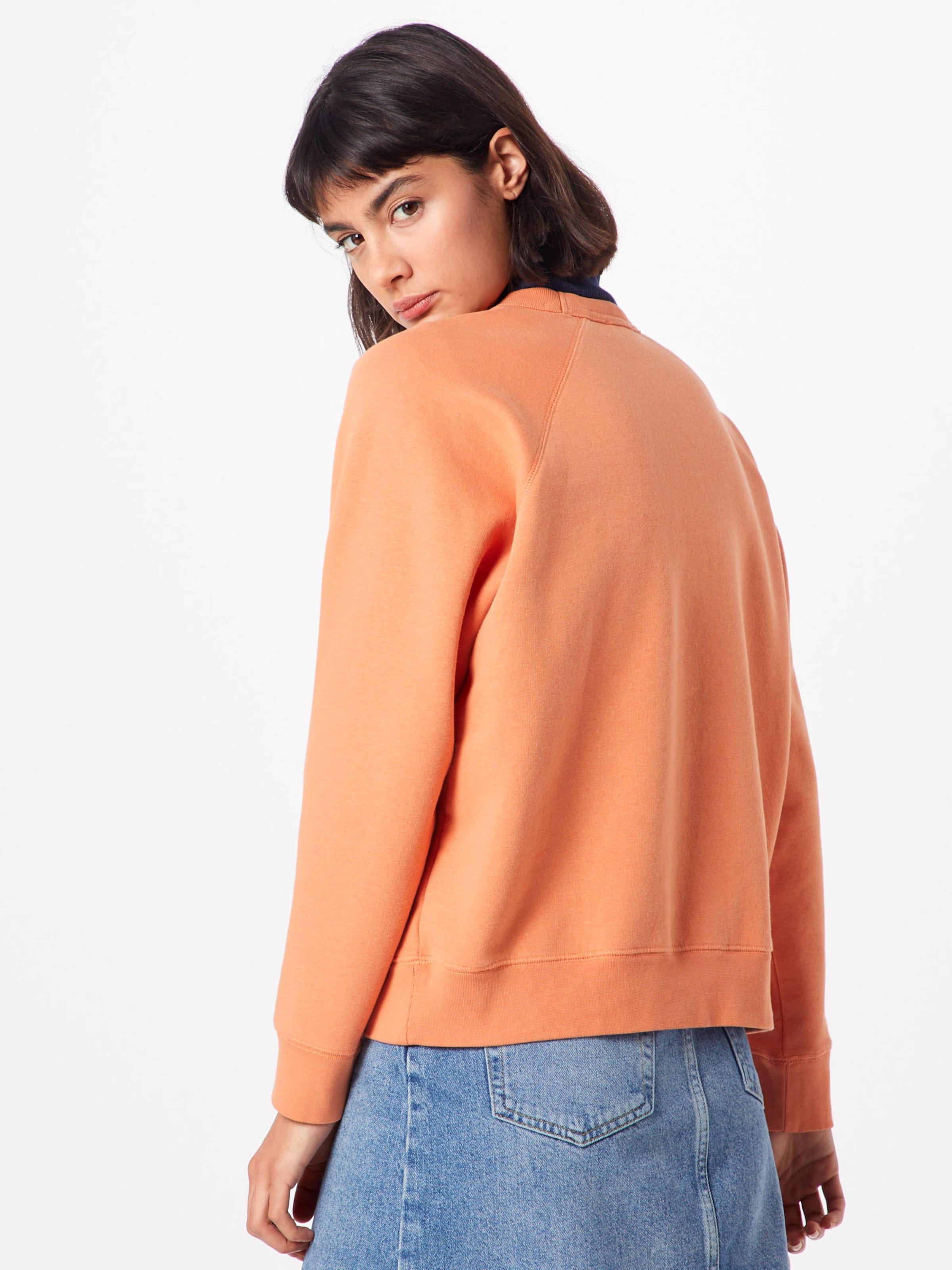 Wood 'jerri' shirt Orange En Sweat 7Yf6bvyg