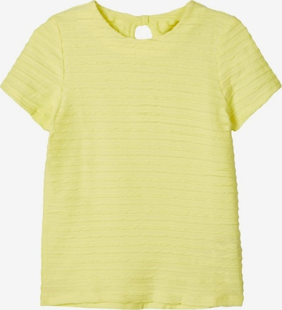 NAME IT T-Shirt in gelb: Frontalansicht