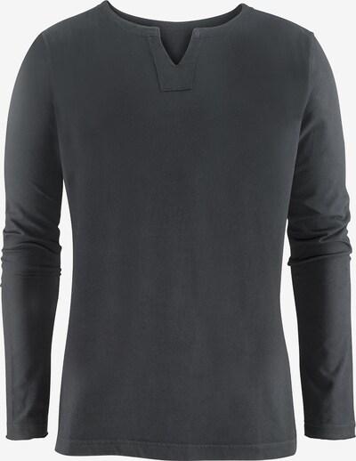 YOGISTAR.COM Shirt 'Pero' in dunkelgrau, Produktansicht