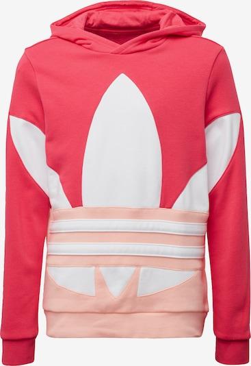 ADIDAS ORIGINALS Bluza w kolorze różowy pudrowy / pitaja / offwhitem: Widok z przodu