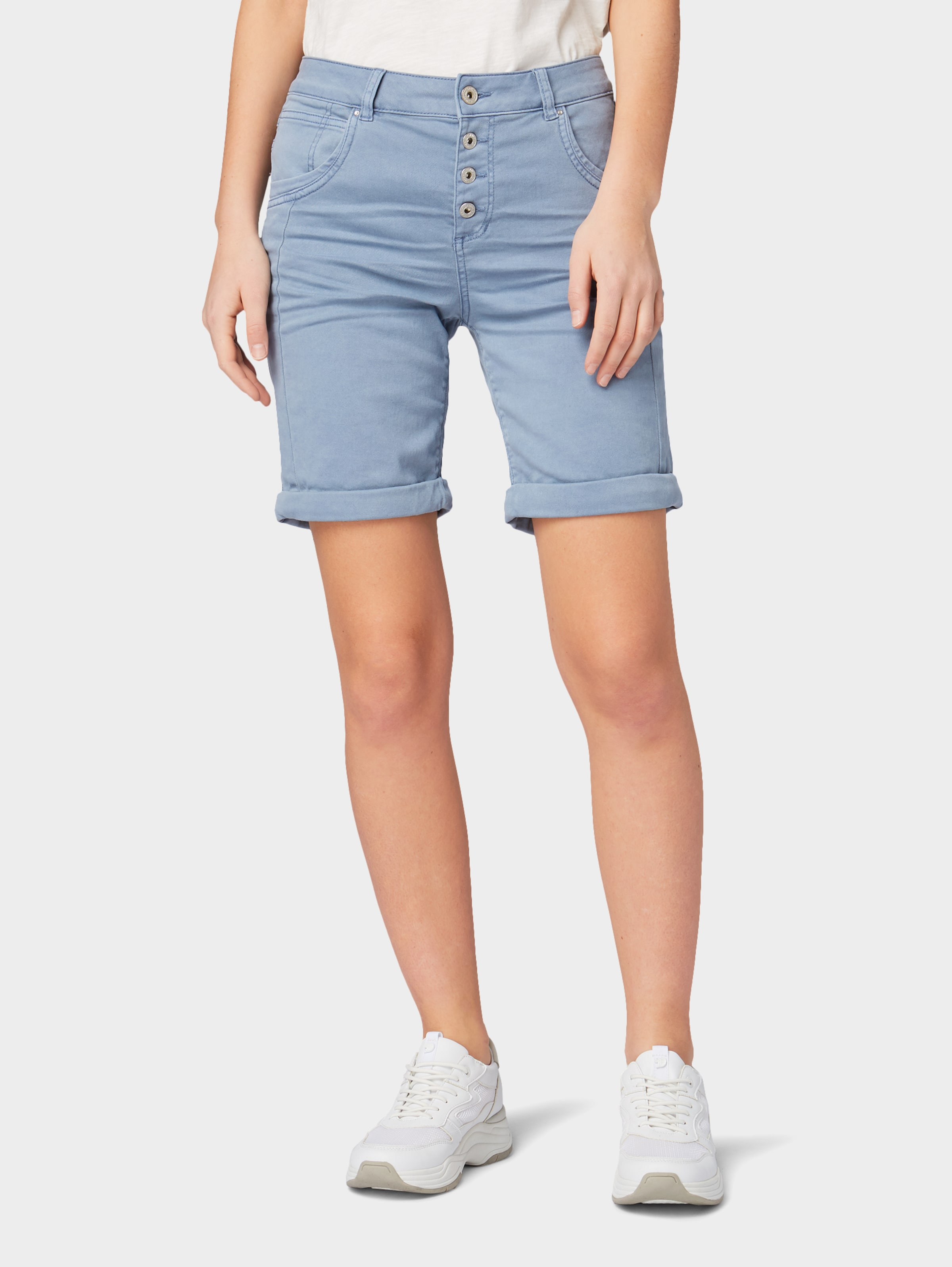 Tom Denim Tailor In Rauchblau Short 'lina' qUpMzVLSG