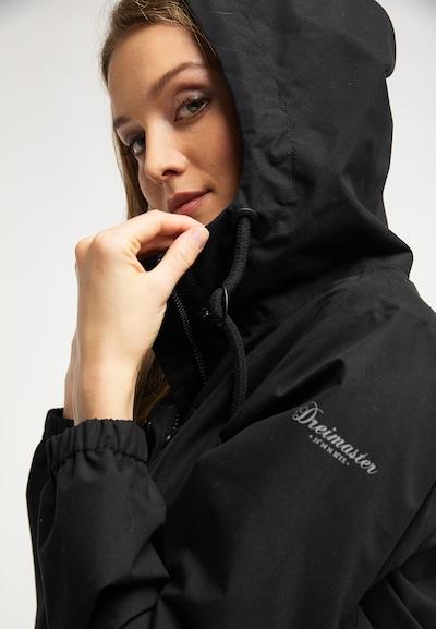 DREIMASTER Funktionsjacke in schwarz: Frontalansicht