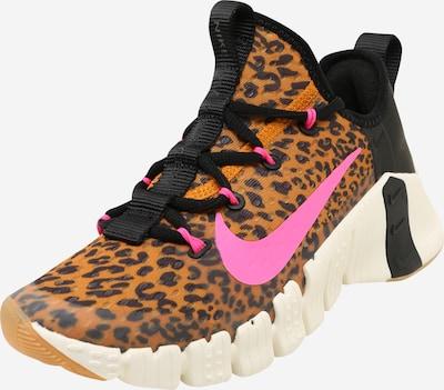 NIKE Športni čevelj 'Nike Free Metcon 3' | konjak / roza / črna barva, Prikaz izdelka