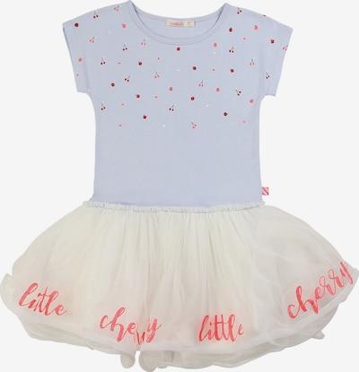 Billieblush Kleid in rauchblau / hellrot / weiß, Produktansicht