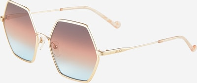 Liu Jo Sonnenbrille 'LJ118S' in gold, Produktansicht