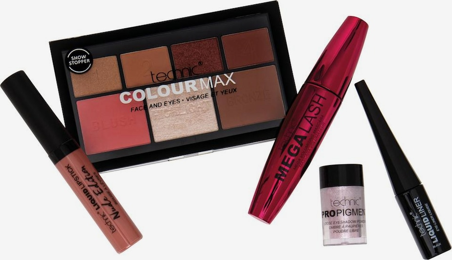 technic Make-up Set 'Bloggers Haul' in mischfarben, Produktansicht