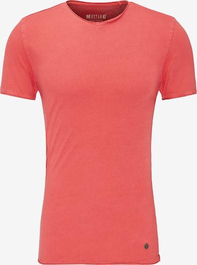 MUSTANG T-Shirt in hellrot, Produktansicht