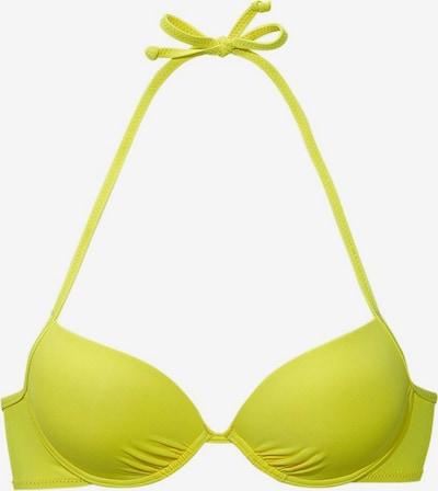 BUFFALO Hauts de bikini 'Happy' en jaune, Vue avec produit