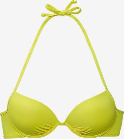 BUFFALO Push-Up-Top 'Happy' in gelb, Produktansicht
