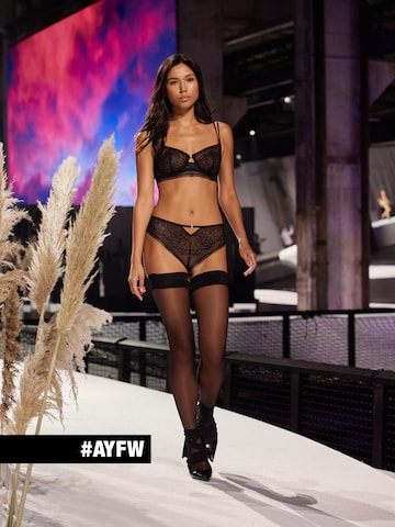 Classic All Black Lingerie Look