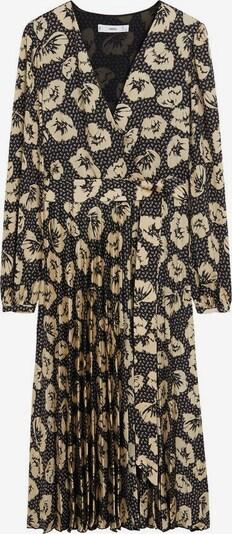 MANGO Kleid 'Nara' in beige / schwarz, Produktansicht