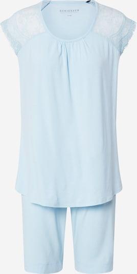 SCHIESSER Pyjama in azur, Produktansicht